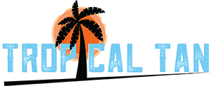 Tropical Tan Spring Texas Logo